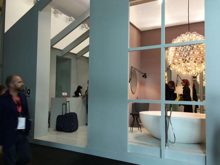 CIELO's new ceramic collections presented at International Bathroom Exhibition 2016  #bathroom #ceramic #SaloneDelMobile #design #interiordesign #inspiration #decor #Cielo #HandMadeinItaly