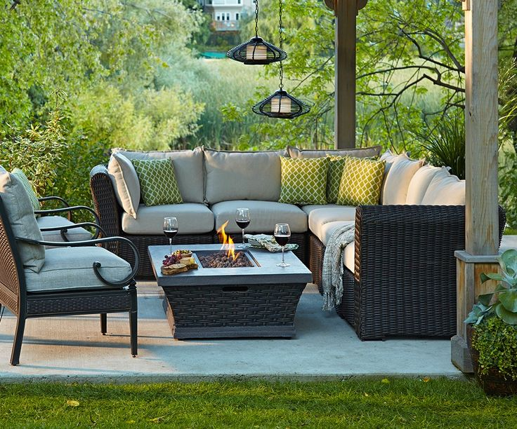 66 best images about terrasses on pinterest for Meuble canadian tire