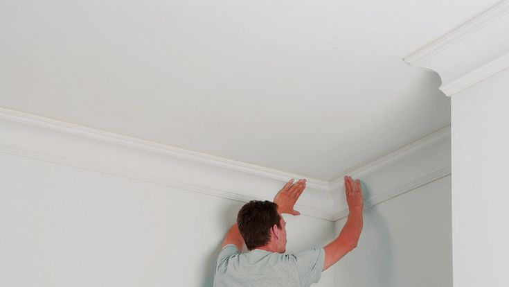A DIY guide to planning and fitting coving including cutting coving mitre joints for internal and external corners, and fixing coving using coving adhesive
