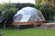 year round dome green house kit, comes small or large...I would love to have this for winter