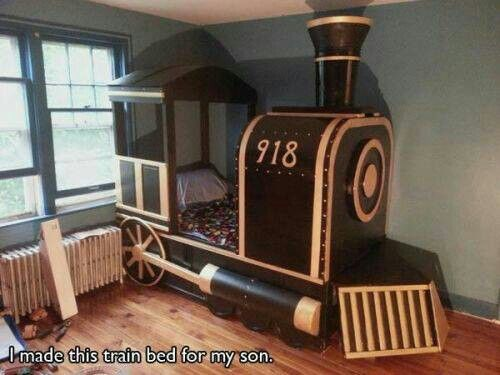 Very Cool Kids Bed Make It A Trolley