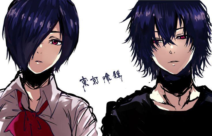 Tokyo Ghoul Touka and Ayato ~siblings