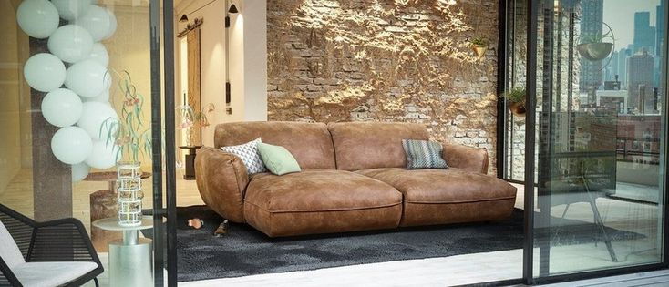 86 best Big sofa images on Pinterest Couches, Armchairs and - Wohnzimmer Braunes Sofa