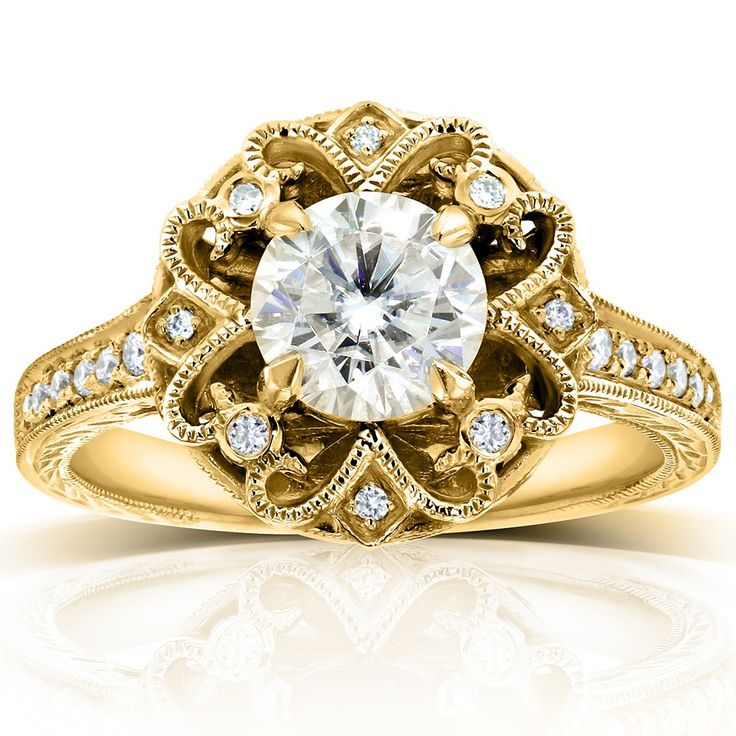 Search our great collection of Big diamond wedding rings with perfect design at Kobelli. See more Jewelry of Diamond engagement rings, Wedding rings, Bracelet & more at our store. Visit now!