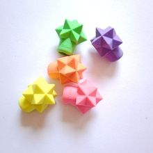 3D cute star shaped pencil cap toppers rubber eraser, stationery wholesale suppliers