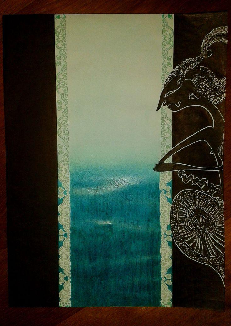 "Between Wayang Kulit (""Dewa Ruci"") by chckn"