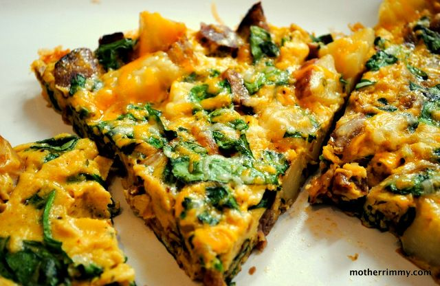 Love That Smoky Spanish Frittata with Spinach and Red Potatoes http://motherrimmy.com/love-that-smoky-spanish-frittata-with-spinach-and-red-potatoes/