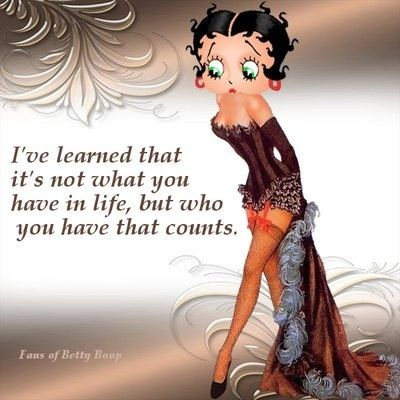4c0830b7d926ef50ba66a35522f2958a.jpg 400×400 pixels | Betty Boop | Pinterest | Betty boop, Sweet dream quotes and Life lessons