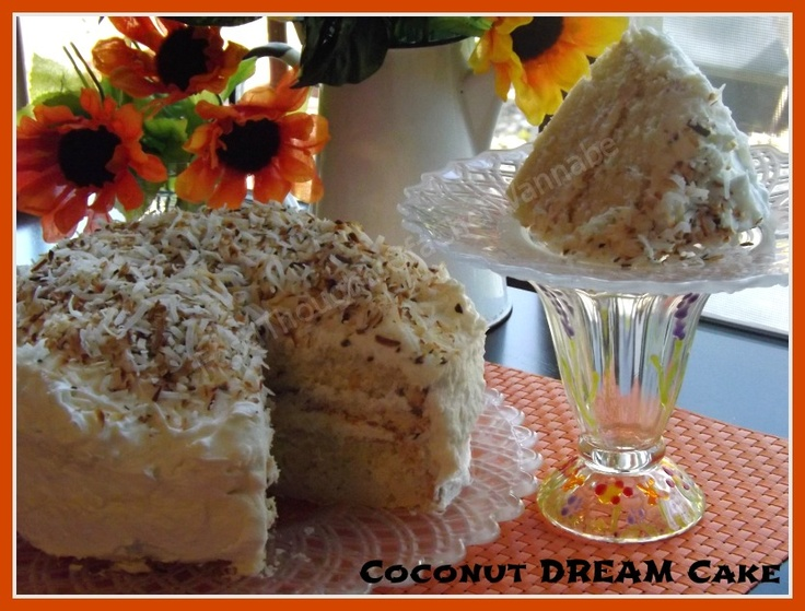 FoodThoughtsOfaChefWannabe: Coconut Dream Cake