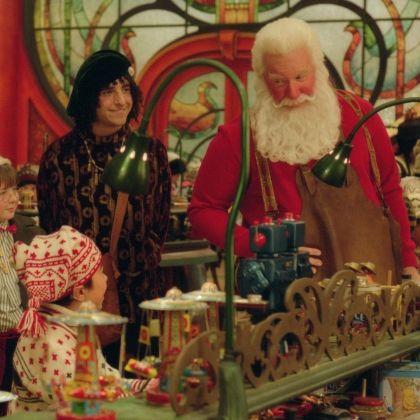 The Santa Clause - Bernard was my favorite!