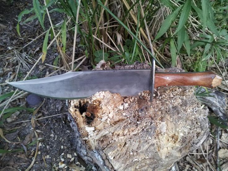 Biggest custom bowie knife - Page 3