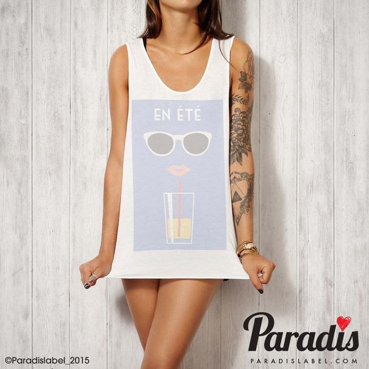 En Ete Tank - Paradis Label, Paradis Label, tank singlet cool fashion summer fashion beach vogue paris paradis sydney hot elegant sexy top