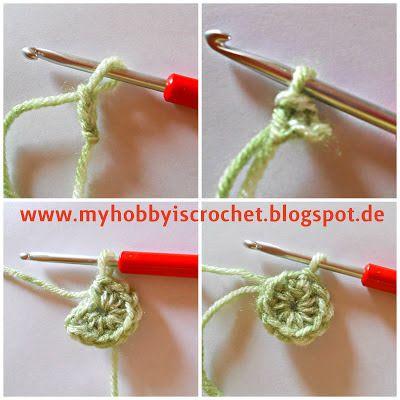 Crochet Dahlia Flower- Free Pattern with Phototutorial