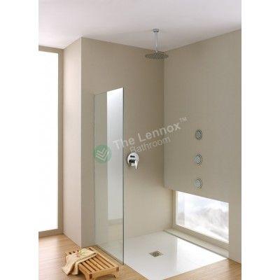 Shower Glass - Stream Series Side Panel (1170X1900mm)