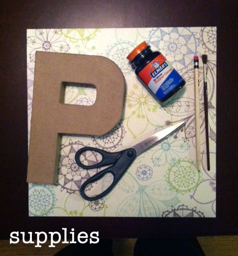 Little Nostalgia: DIY: Cardboard Letters. I have to try making these for my room. Once I get one that is.