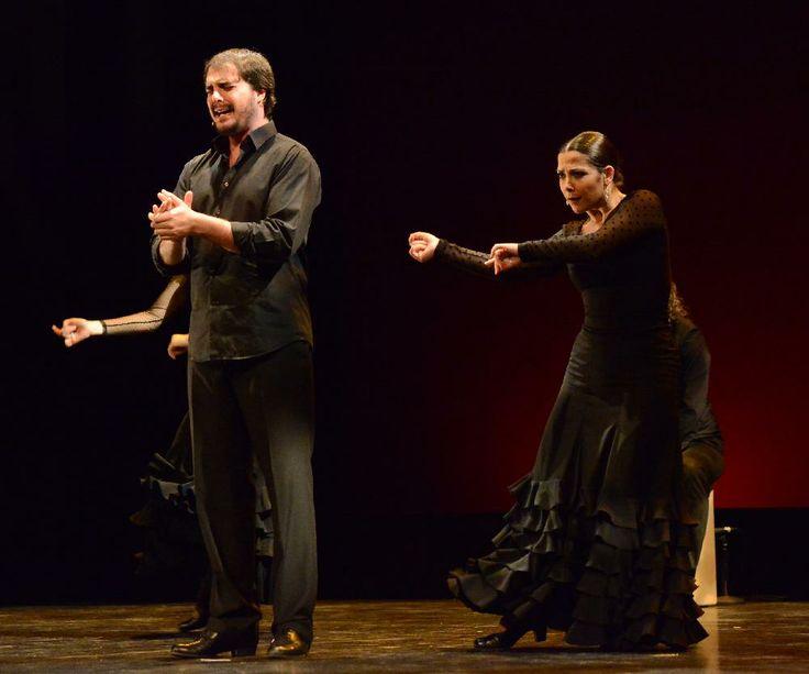 Báilame, Compañía Carmen de las Cuevas. Sergio el Colorao y Estefanía Martínez. Foto: Juan Antonio Cárdenas