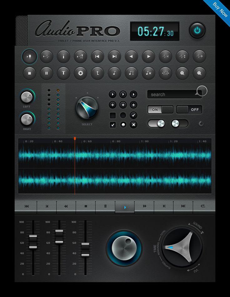 Nice bit of UI!    http://creattica.com/mobile/tablet-phone-user-interface-pro-set-v-4-0/48019