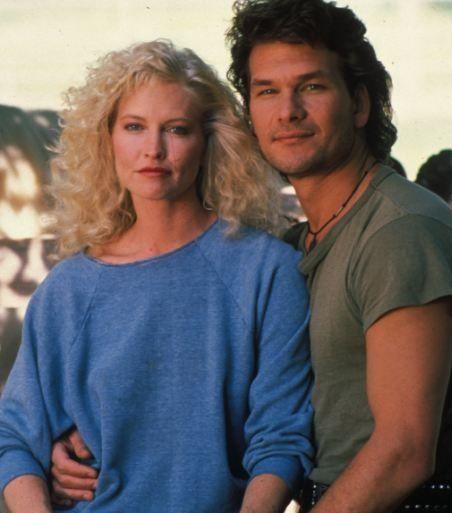 Patrick Swayze & his wife Lisa Niemi