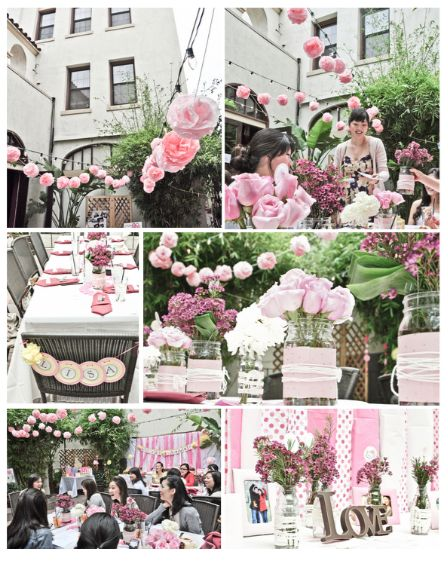 A Very Pink, 'Hello Kitty' Bridal Shower - Bridal Musings Wedding Blog