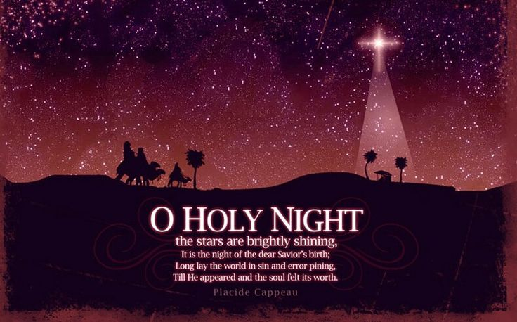 Fall on your knees oh hear the angels voices quotes for O holy night decorations