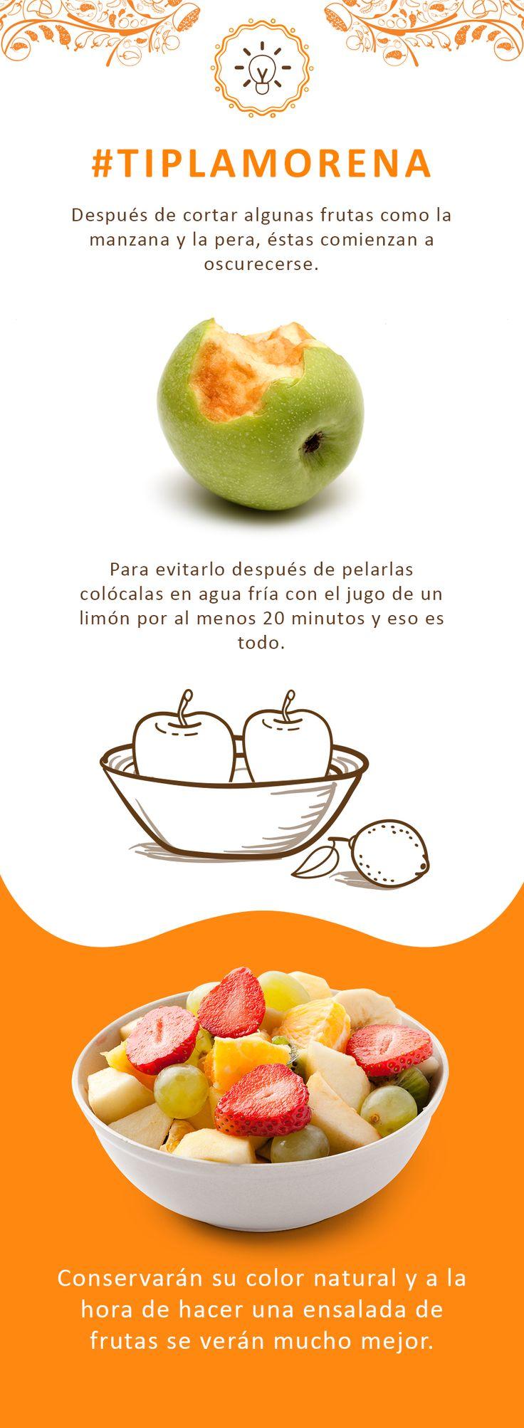 Te compartimos un tip que te ayudarán a que las frutas se conserven mejor.