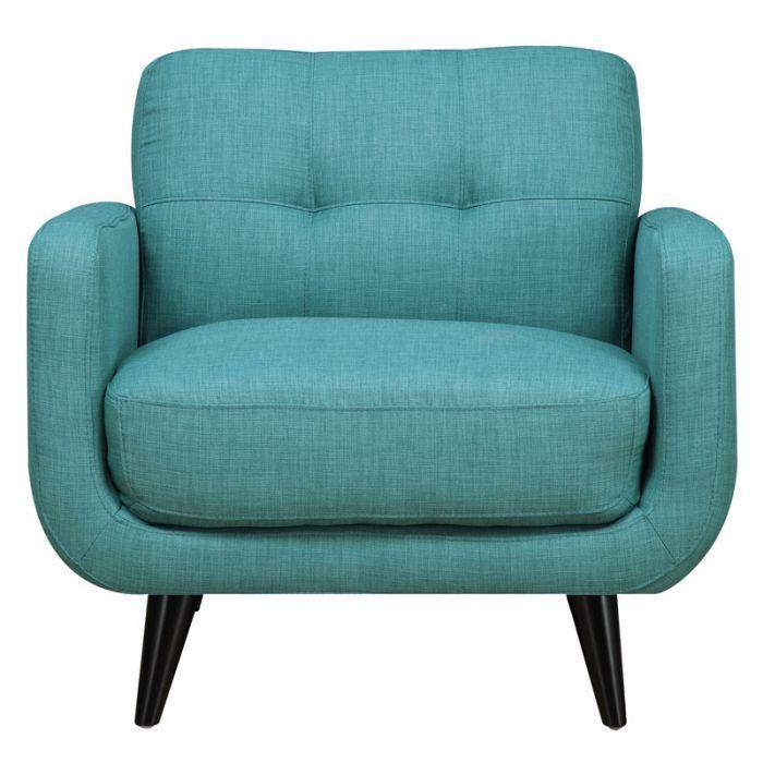 Pleasing Hadley Aqua Blue Mid Century Modern Chair Chair Love In Inzonedesignstudio Interior Chair Design Inzonedesignstudiocom