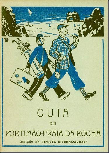 Guia de Portimão-Praia da Rocha, 1960.