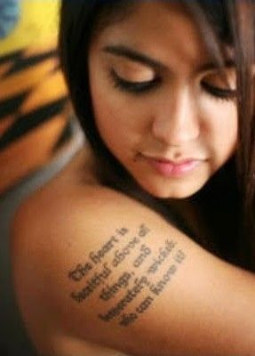 Best Life Quotes Tattoo for girls.words tattoo for fashion girls ...