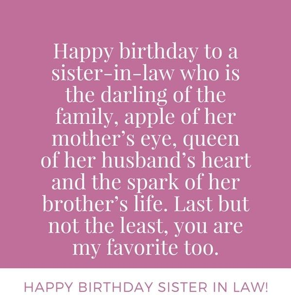 Happy Birthday Sister In Law Images Pictures And Wallpapers Sister In Law Quotes Birthday Wishes For Sister Sister In Law Birthday