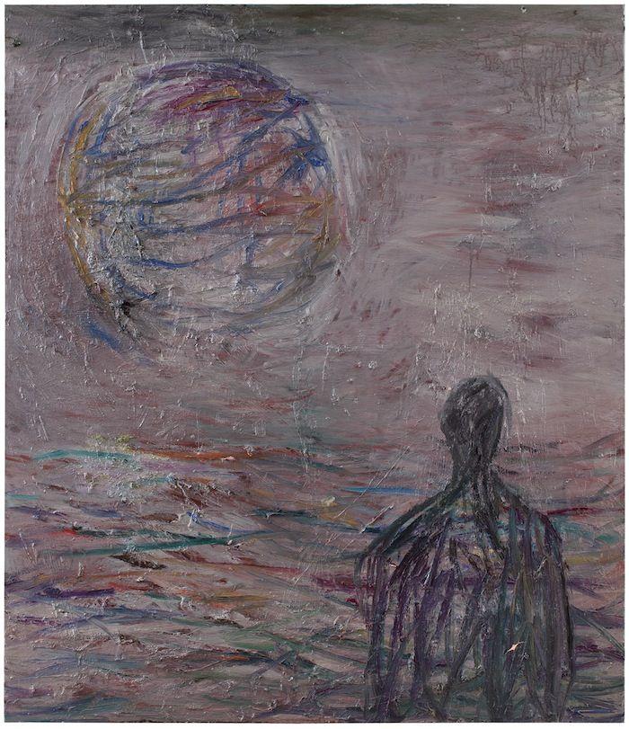 Onnekas mies [onnekas_mies] : Nanna Susi - Taidetta, maalauksia 2014, 150 x 130