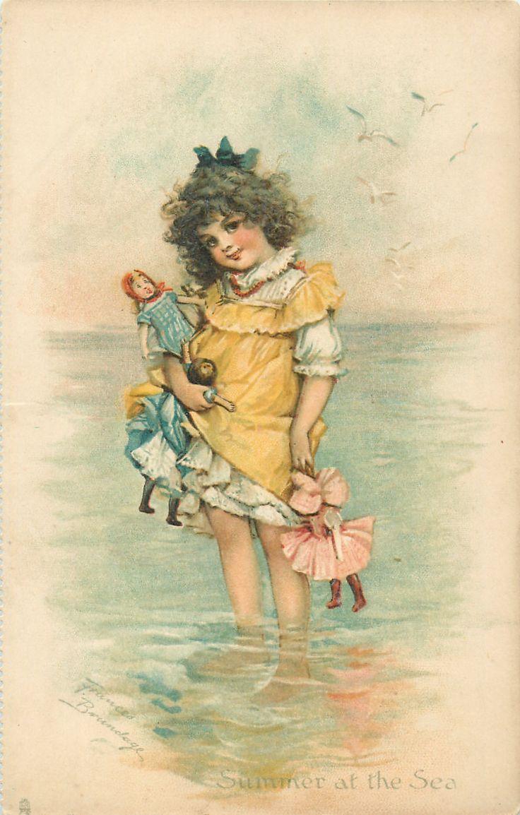 SUMMER AT THE SEA - Art by FRANCES BRUNDAGE | Kids - old ...
