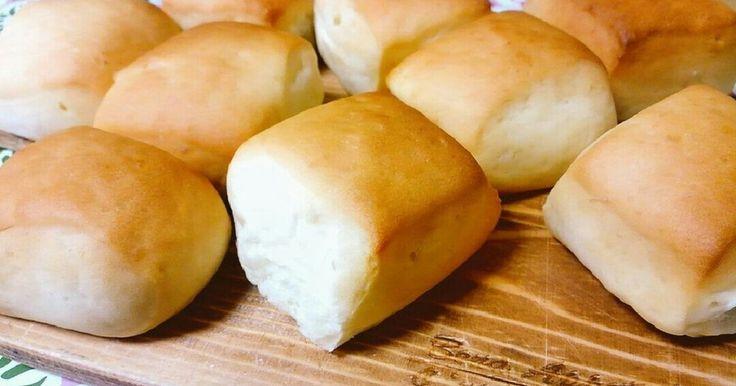 甘くてフワフワなコストコのディナーロール風のパンがおうちで作れました!卵不使用です 2015.8. 写真を更新しました。
