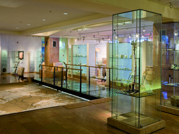 Located in Haifa University's main building, the museum displays archaeological findings from the early history of the Land of Israel. Two principal collections