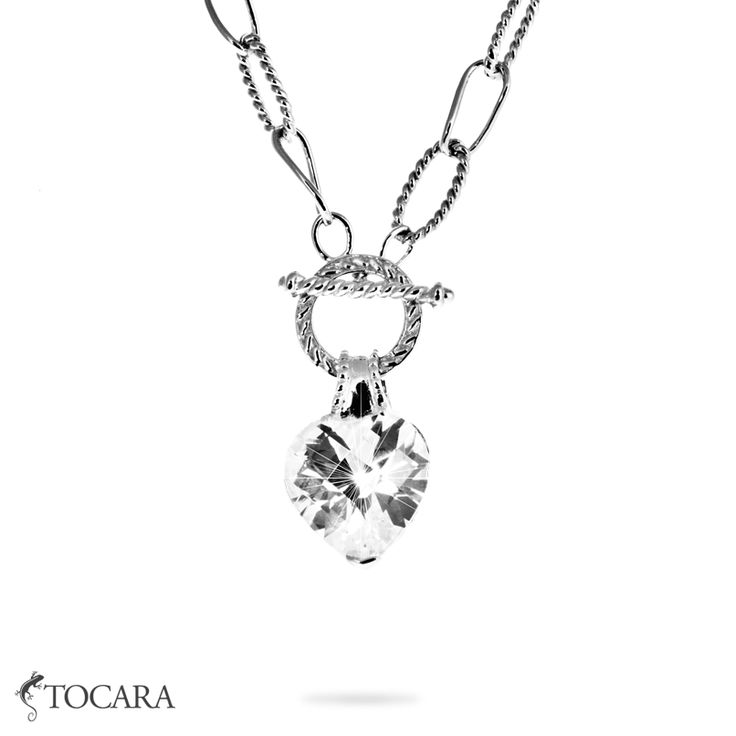 You surely are going to be the centre of attention with this amazing Tocara Jan Necklace. The Heart shaped DiAmi stone has an unmatched sparkle.