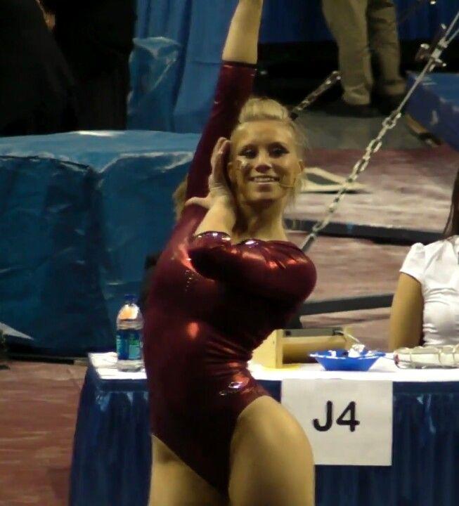 Brittany Johnson sexy gymnast