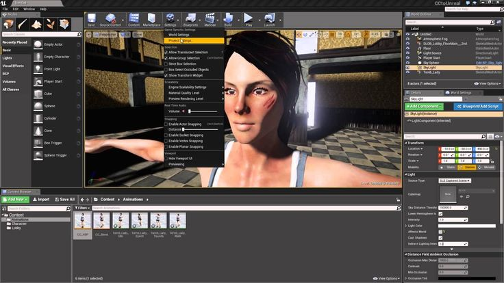 Character Creator to Unreal Part 5: Animation & Control in Unreal