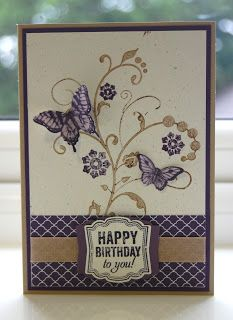 Stampin'' Up! Flowering Flourishes