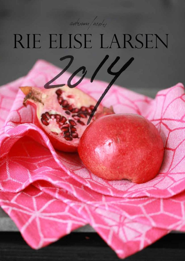 Rieeliselarsen AW 14  Danish interior design from Rie Elise Larsen  collection autumn winter 2014