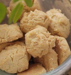 超がつく程簡単☆ごま油クッキー