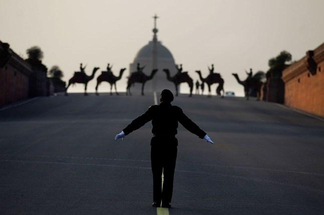 Beating Retreat rehearsals, New Delhi