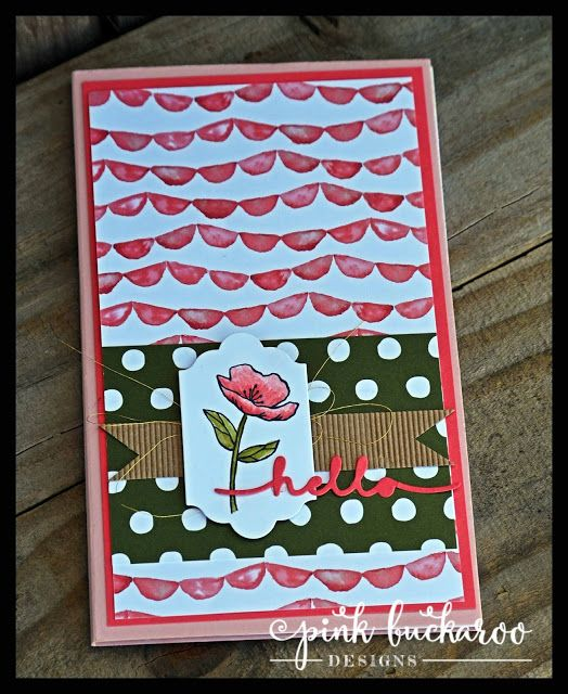 Birthday Bouquet and Birthday Blooms by Stampin' Up Notepad cover