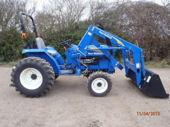 New Holland T1510 SOLD | Small Tractors