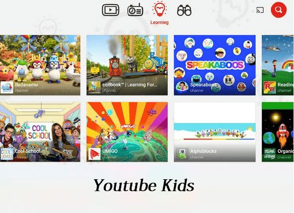 google chromecast features - YouTube Kids