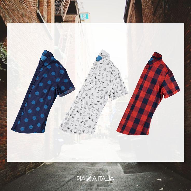 Pois, comics o scacchi? Camicie #DenimCollection colorful 9.95.
