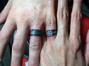 f18686a9c 18 of the Best Wedding Ring Tattoos for Couples – Wow Amazing ...