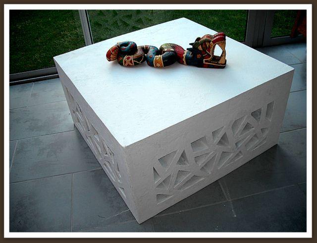 Table de salon par Manalue : tout en carton !