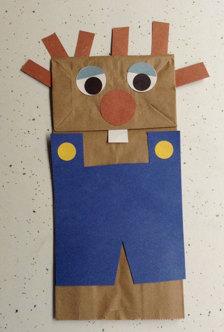 My very own Little Critter creation...puppet!