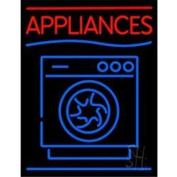 Cheap Appliances With Washing Machine Logo Neon Sign 31