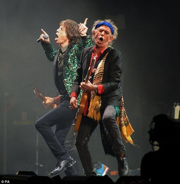 Mick & Keith live at Glastonbury Festival 2013