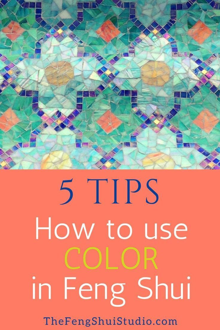 5 Tips On How To Choose A Paint Color Using Feng Shui. #fengshui #